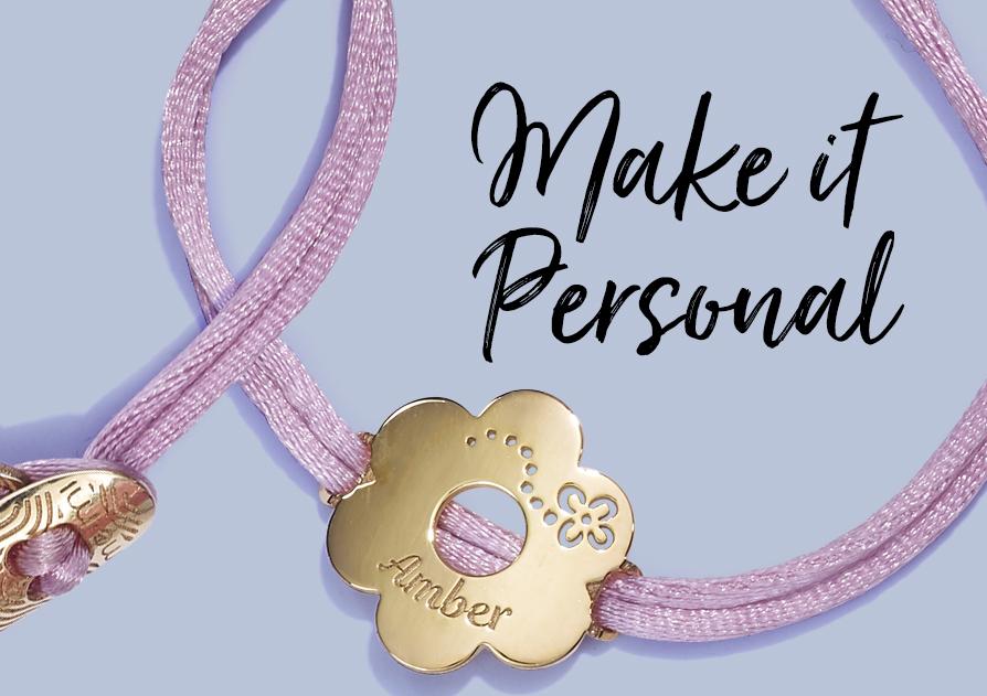 personalised jewellery by memi