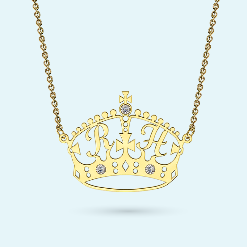 Designer Crown Necklace