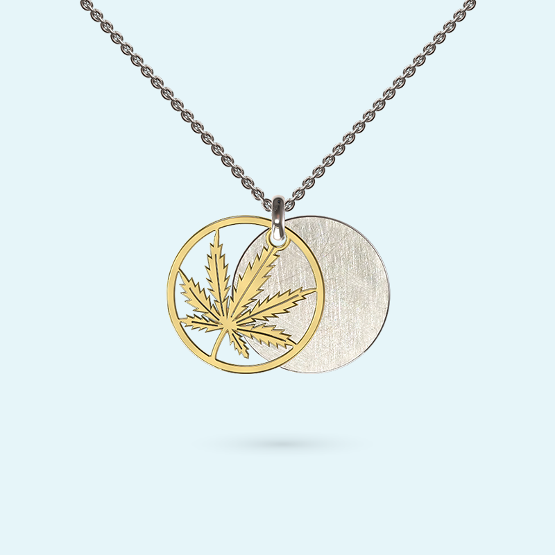 Good Leaf Inside Story Necklace