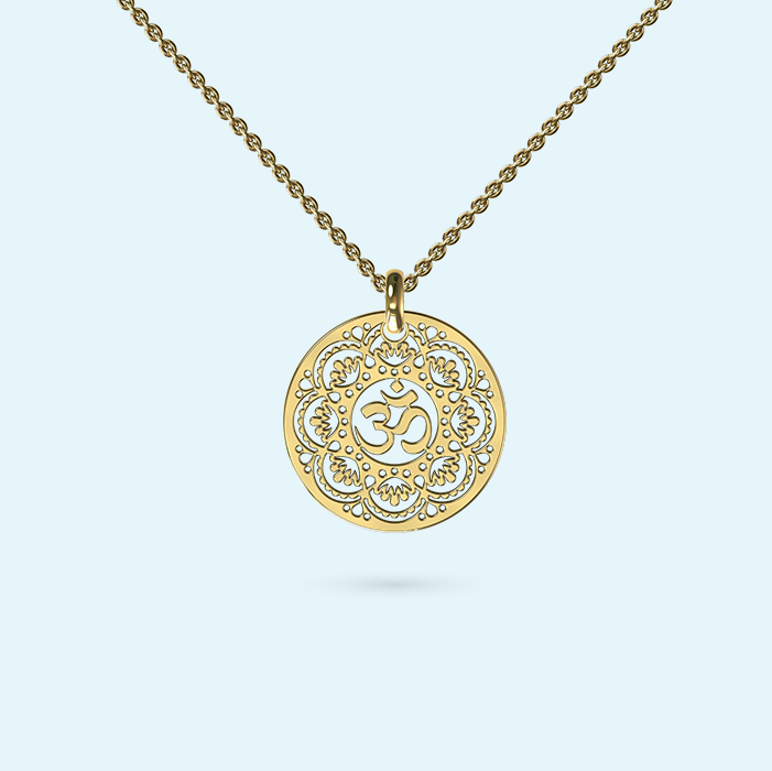 Medium Om Necklace