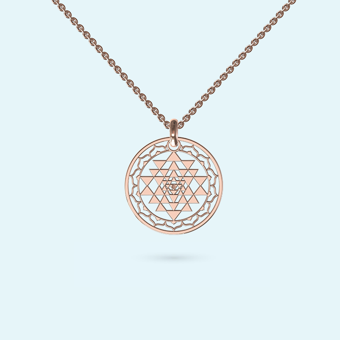 Medium Sri Yantra Necklace