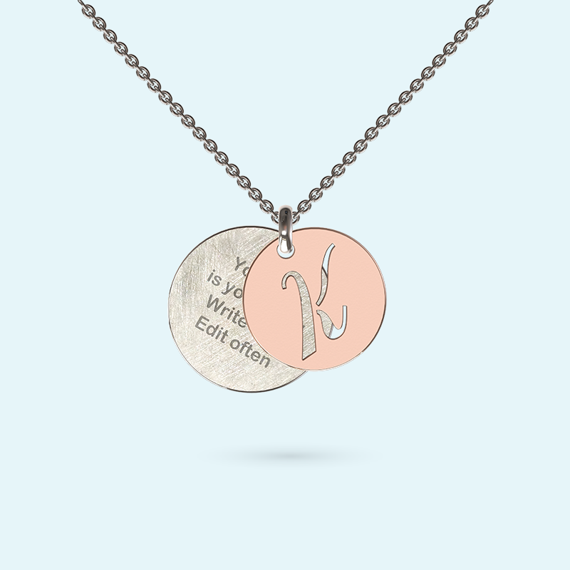 Initial Inside Story Necklace