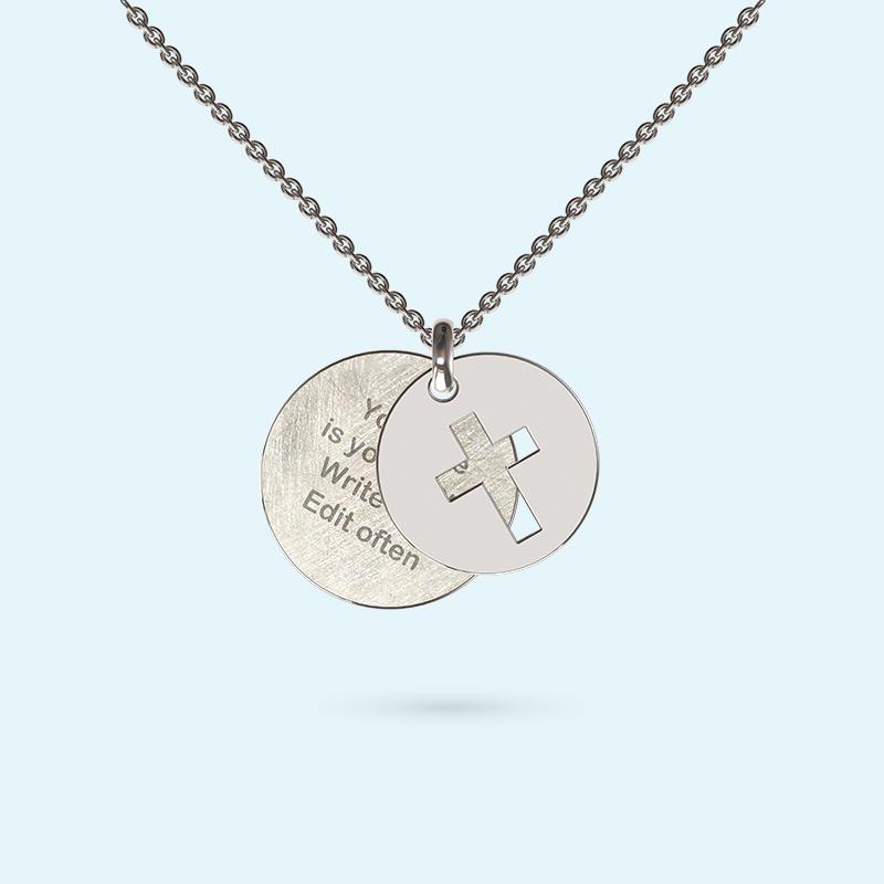 Faith Story Necklace