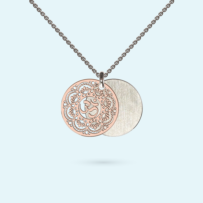 Om Inside Story Necklace