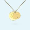 Gold Hidden Inside Story Necklace