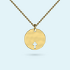 Cut out Cross Pendant