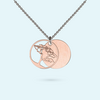 Rose Gold Life Africa Inside Story Necklace