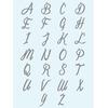 memi Font for initial pendants
