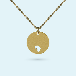 Africa Disk Necklace