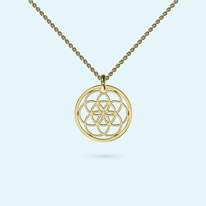Medium Seed of Life Necklace