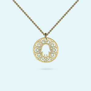 Medium Hamsa Necklace