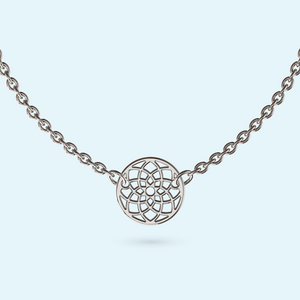 mini seed of life necklace