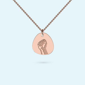 BLM Amandla Black Power Necklace