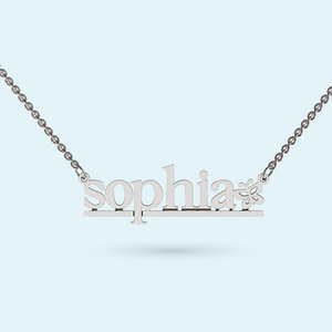 Name chain Necklace